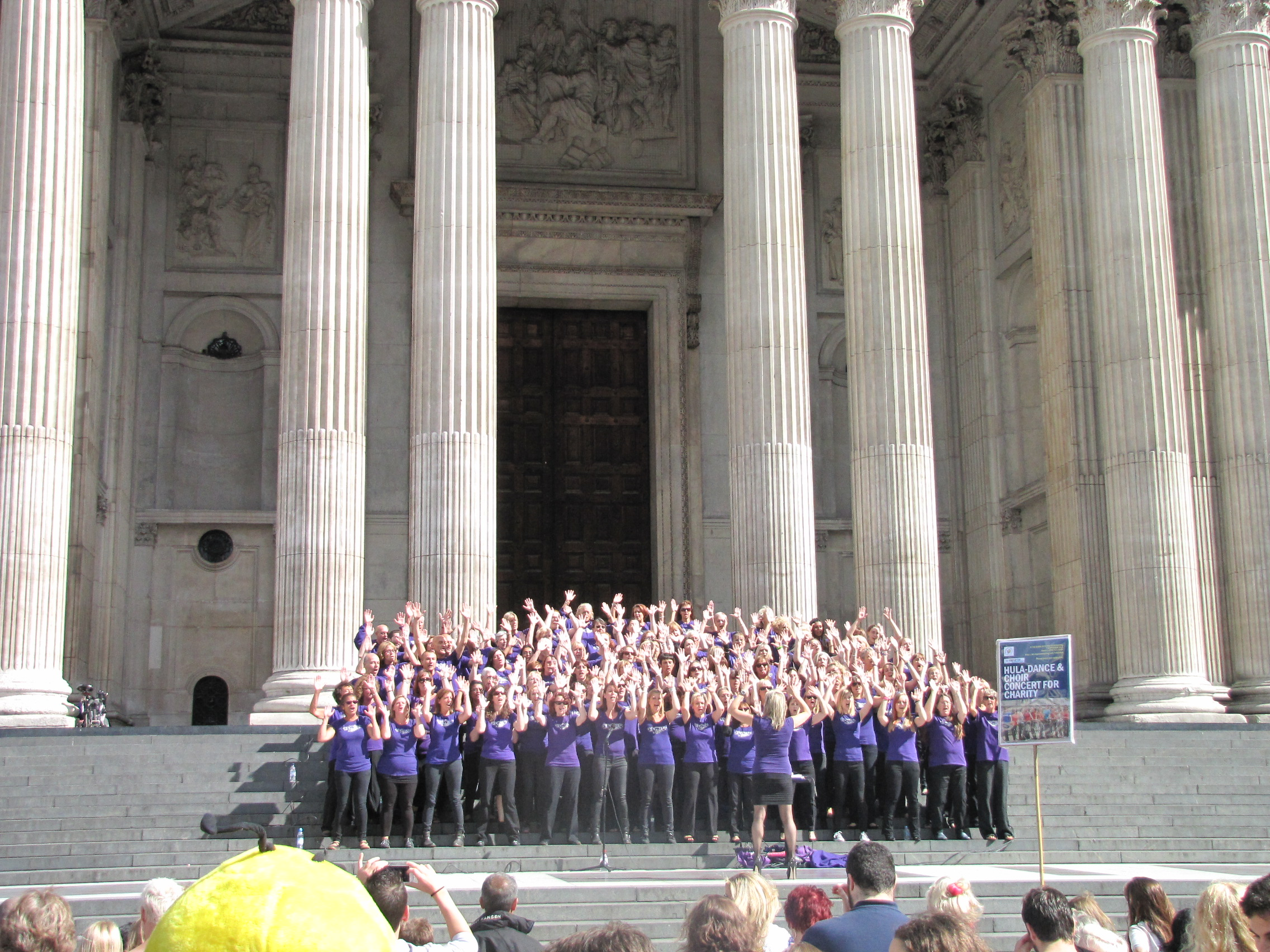 'Popchoir' set for Olmypic Park performance