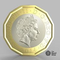 East London and West Essex Guardian Series: The new one pound coin announced by the Government will be the most secure coin in circulation in the world (HM Treasury/PA)