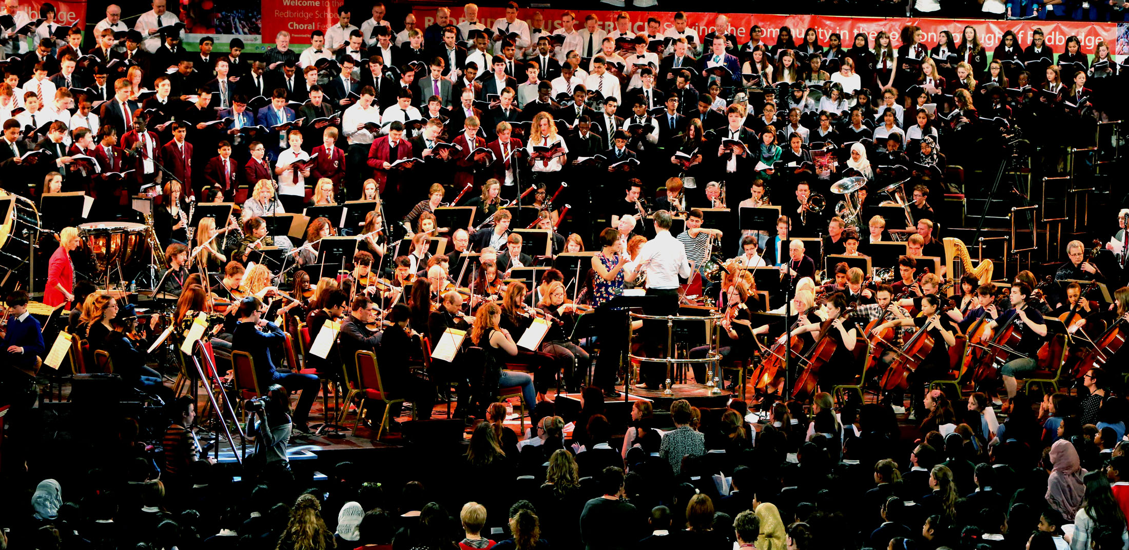 Pupils perform Albert Hall concert