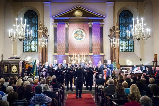 East London and West Essex Guardian Series: The choir perform at St Paul's church in Candem Square last year