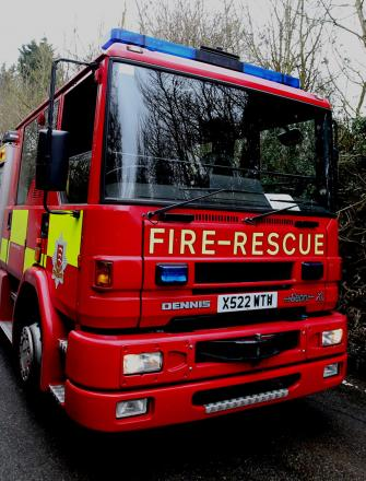 A total of three fire engines attended the incident