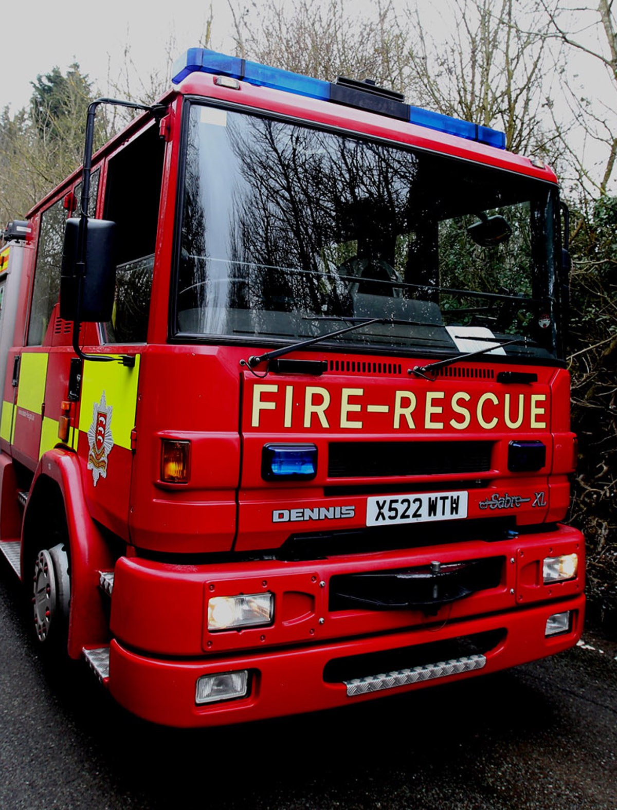 Parked cars are delaying fire crews in Ongar (file image).