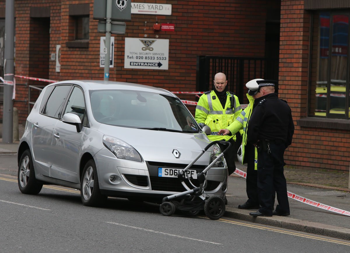 Toddler and mother hospitalised after car collision