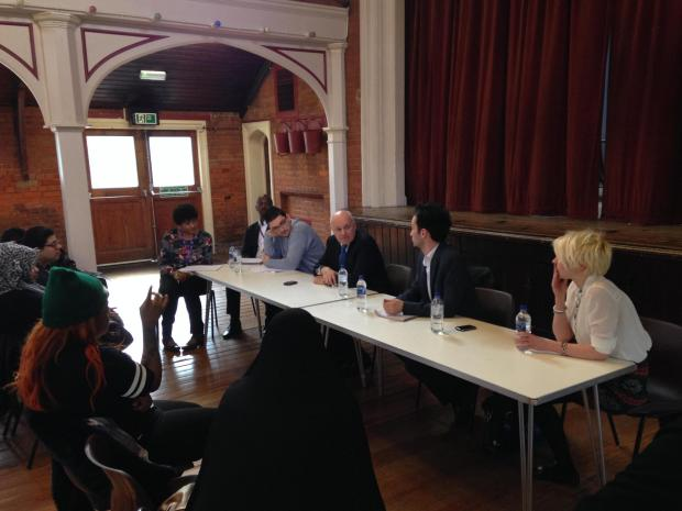 Iain Duncan Smith, Church End Conservative Action Group, and residents of Queen Mary's Avenue question Circle 3