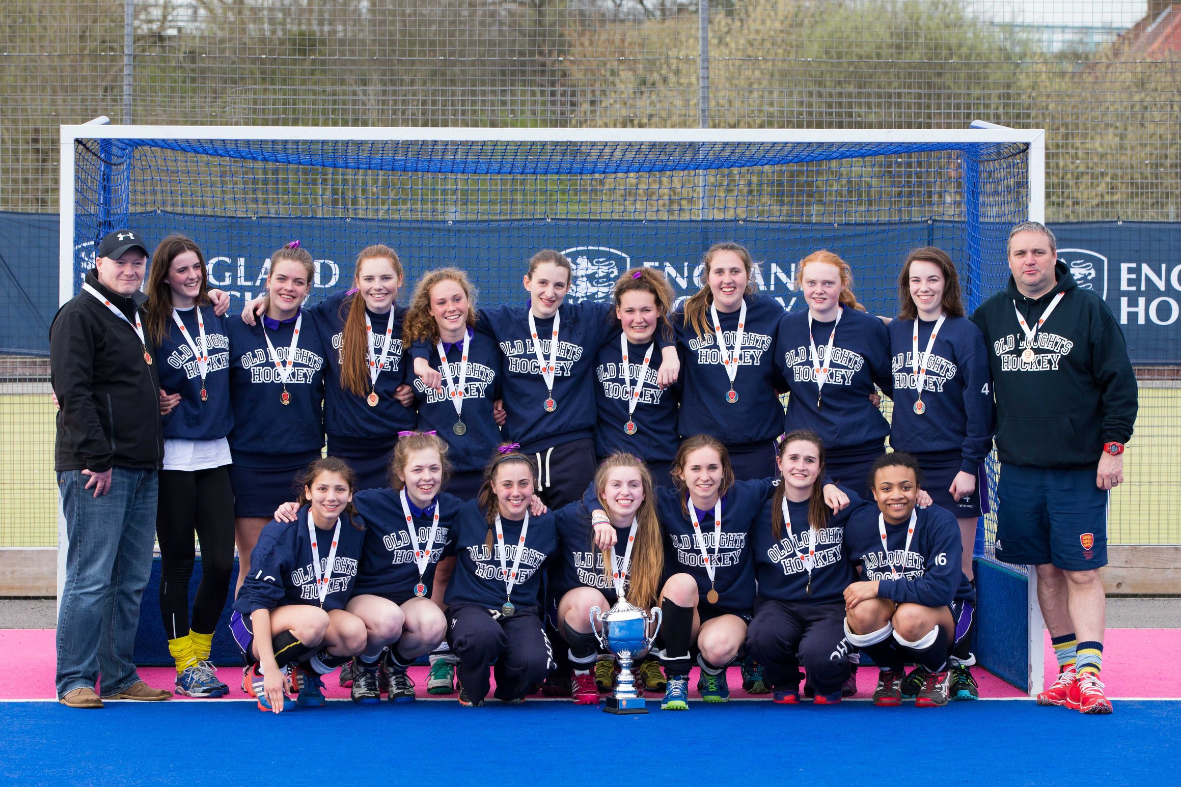HOCKEY: Loughts Under-18 girls make history with cup win