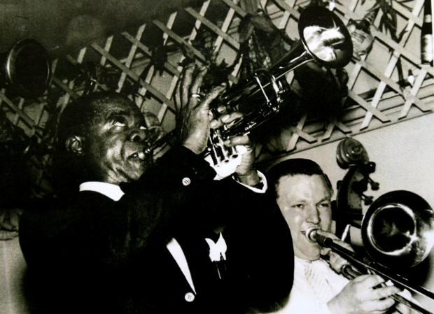 National archive picture of Louis Armstrong