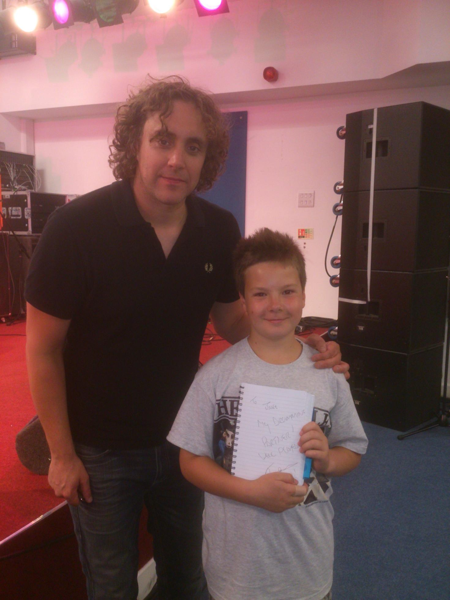 Drumming prodigy youngest to pass exam