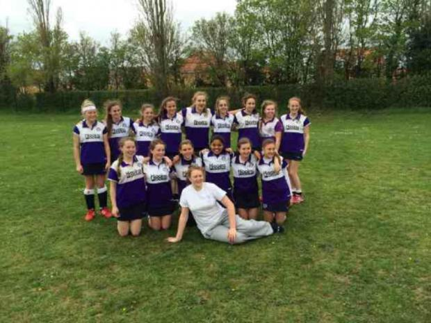 East London and West Essex Guardian Series: HOCKEY: Loughts Under-14 girls reach National Finals