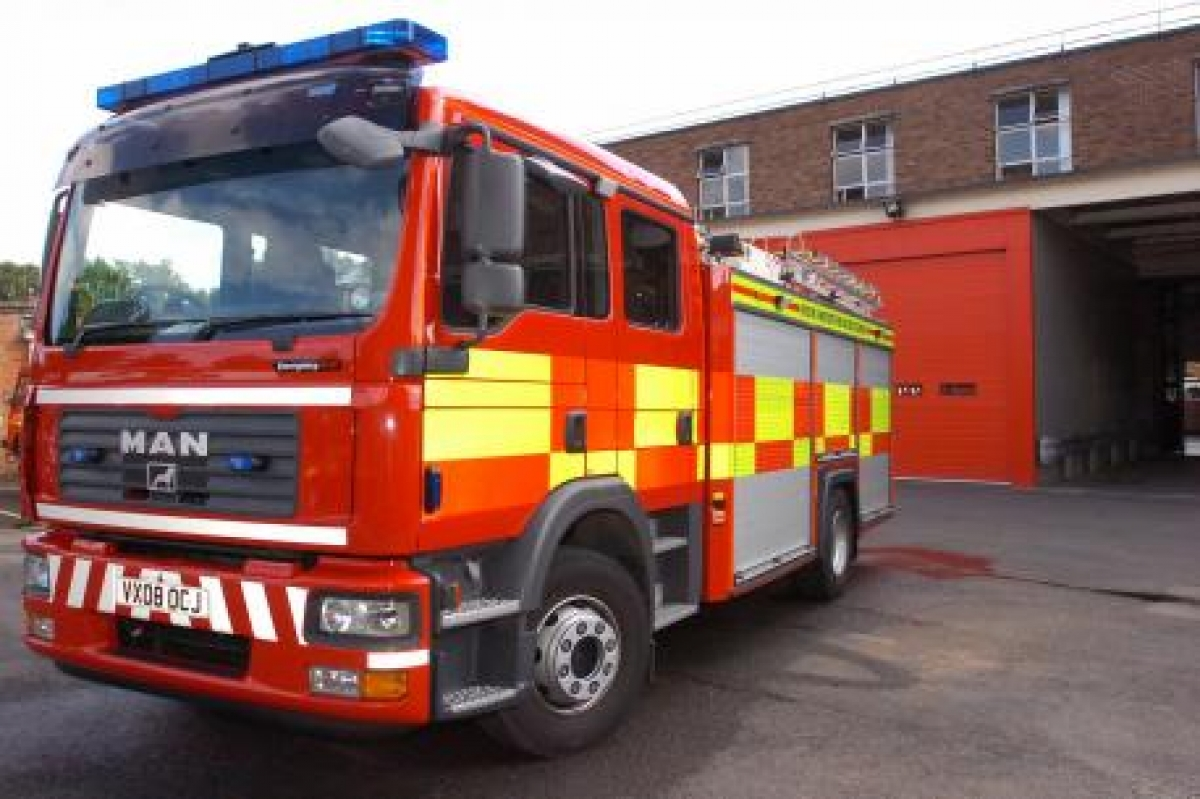 21 firefighters called to tackle shed blaze