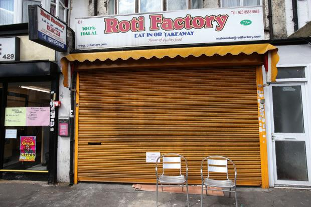 Roti Factory in Lea Bridge Road was infested with rats and without hot water