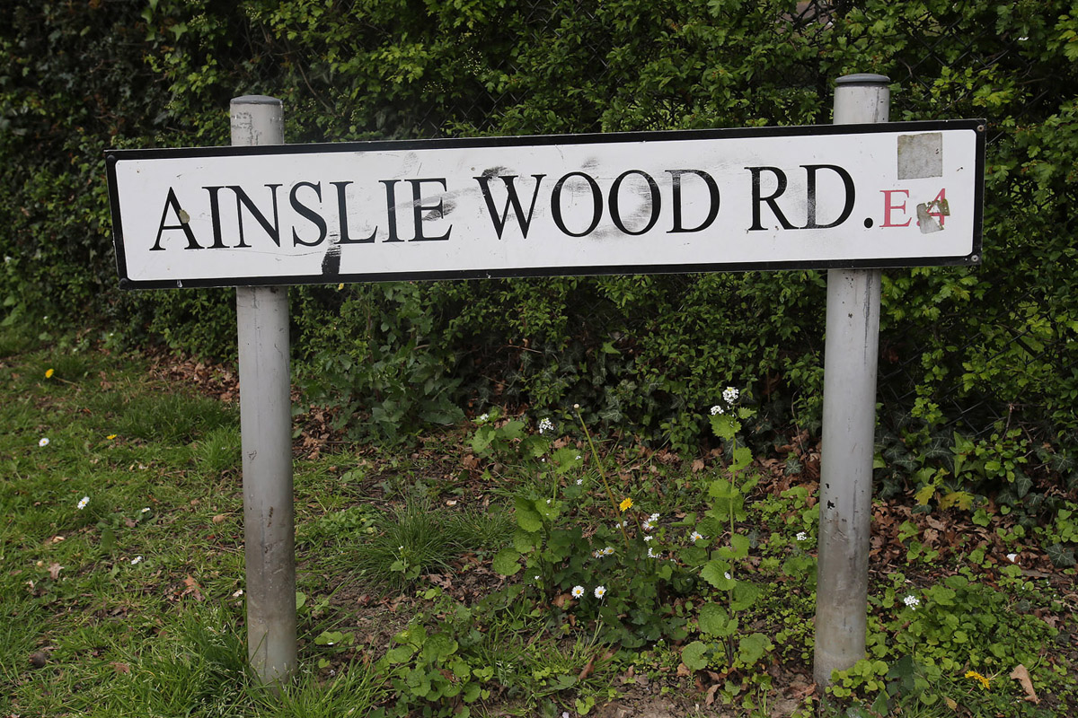 The nuisance neighbour was evicted from Ainslie Wood Road in Chingford.