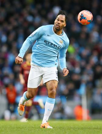 West Ham are interested in Manchester City defender Joleon Lescott this summer. Picture: Action Images