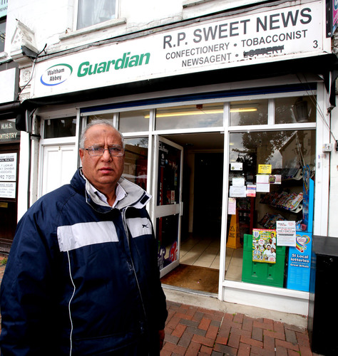 Shop owner's business left in ruins after burglary