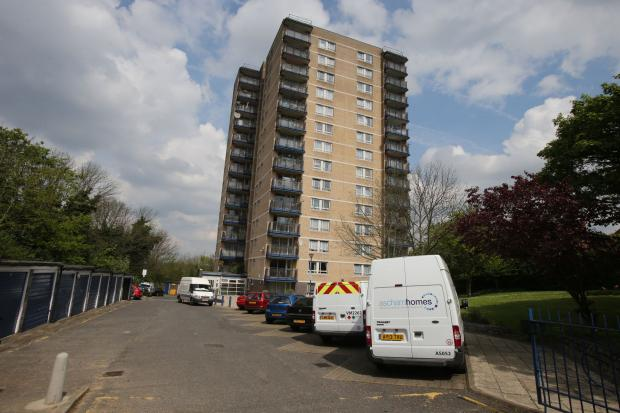 East London and West Essex Guardian Series: Seven residents were evacuated from St Patrick's Court around 5am this morning