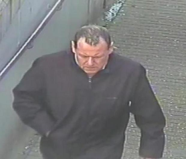 Police want to talk to this man in connection with the theft