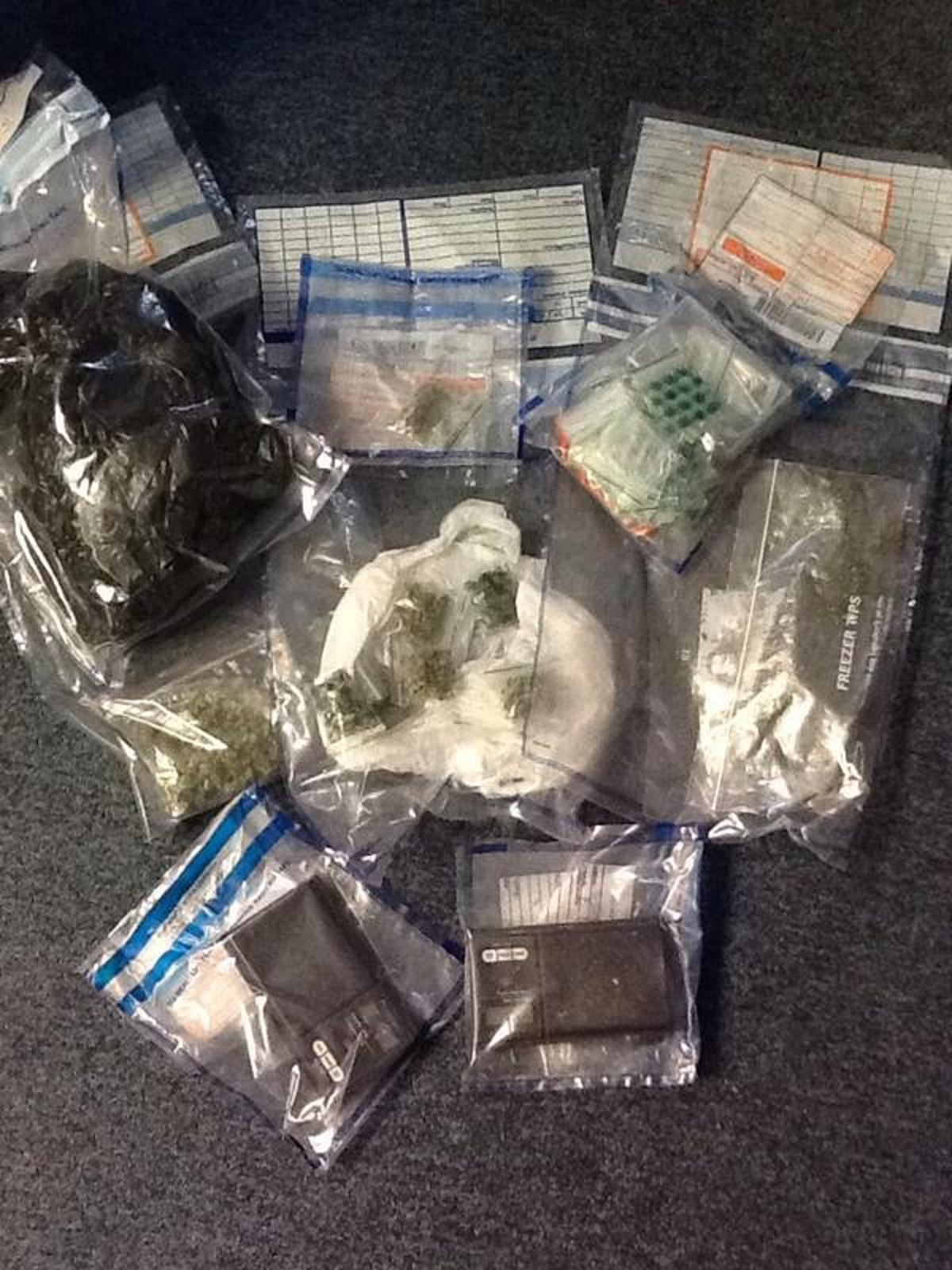 Some of the items seized as part of yesterday's operation