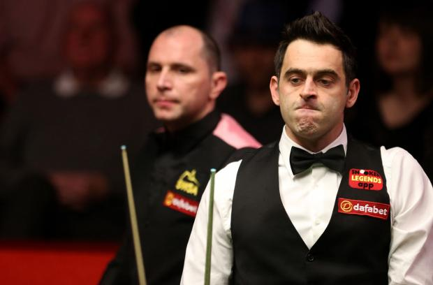 East London and West Essex Guardian Series: Work to do: Ronnie O'Sullivan. Picture: Action Images