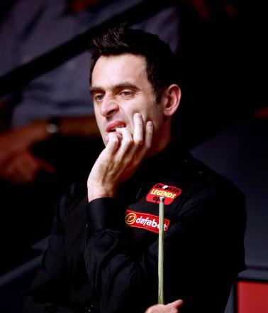Plenty to ponder: Ronnie O'Sullivan. Picture: Action Images