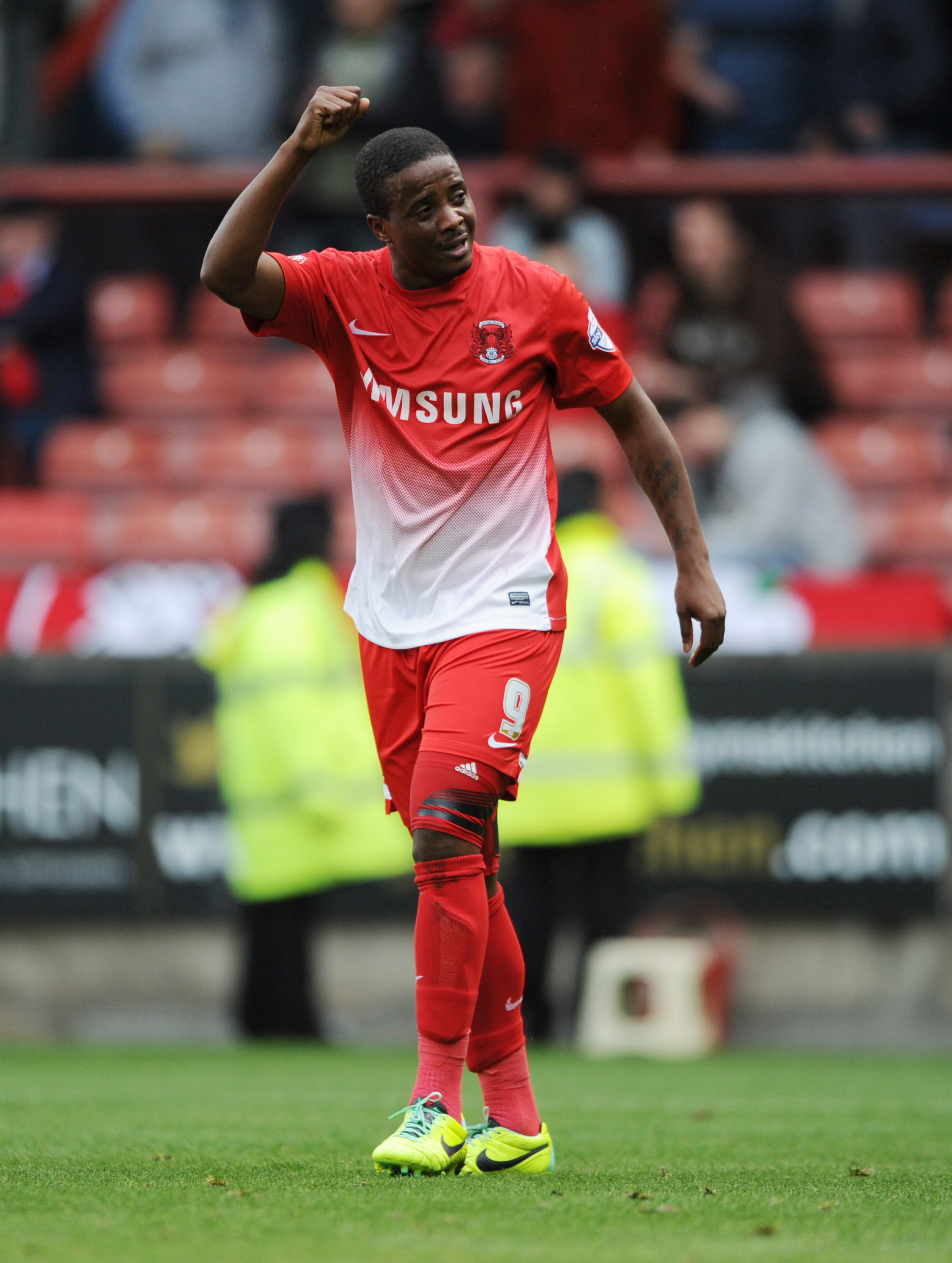 Kevin Lisbie headed the O's into the lead: Simon O'Connor