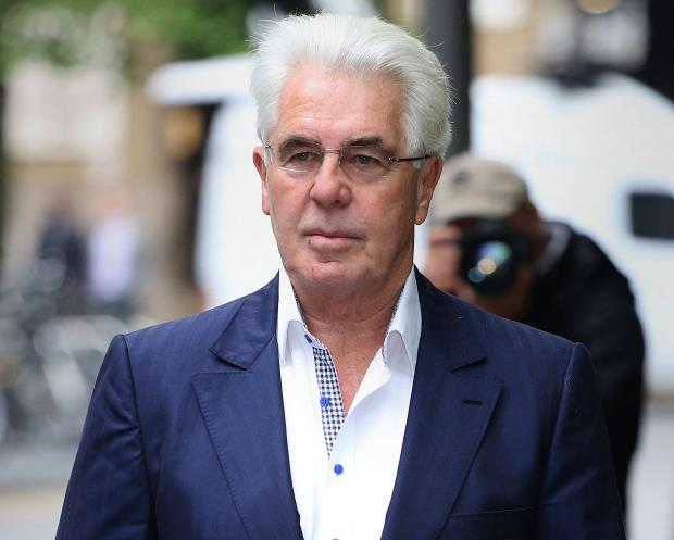 Max Clifford was sentenced today