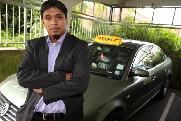 Azid Famu, spokesman for Epping Forest Taxi Driver's Association