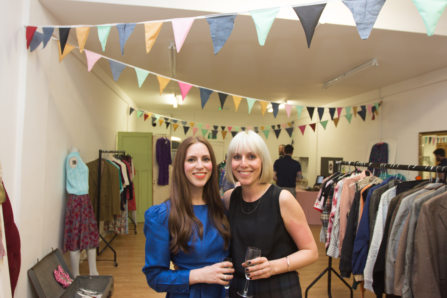 Kate and Jennifer Ford in their shop