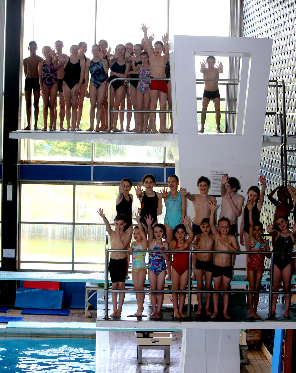 Young divers at Waltham Forest Pool and Track want to keep their 5m board