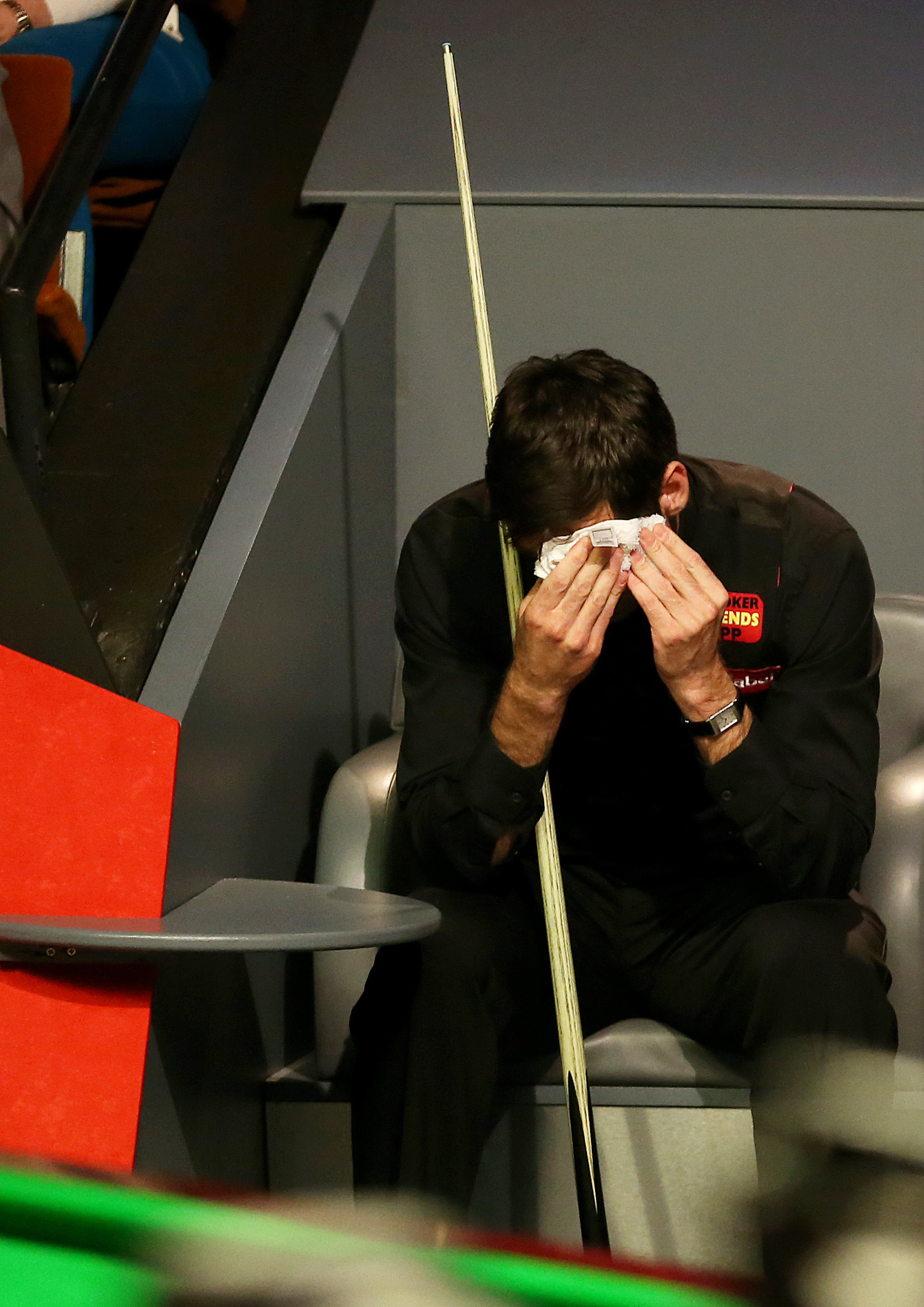 A dejected Ronnie O'Sullivan during the final. Picture: Action Images