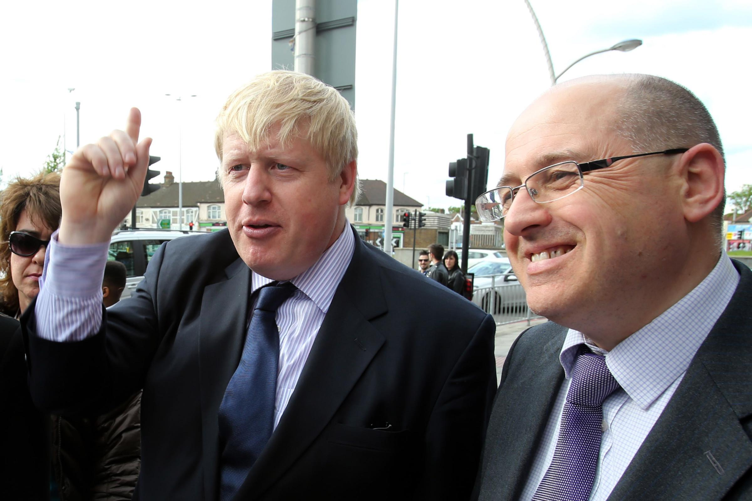 Boris Johnson launches Conservative's local election campaign