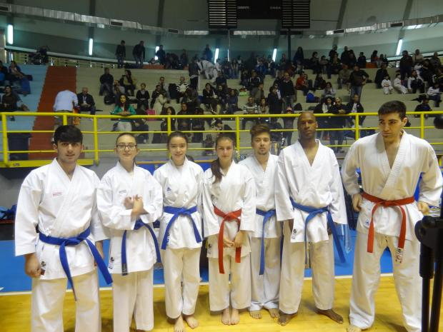 East London and West Essex Guardian Series: UK Southern Squad Karate team enjoy success in Sardinia