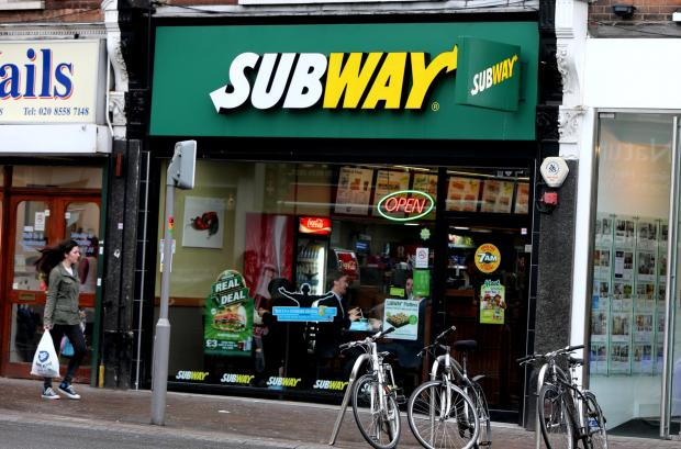Subway in Church Lane, Leytonstone offers Turkey-based products instead of pork