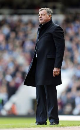 Hammers boss Sam Allardyce. Picture: Action Images