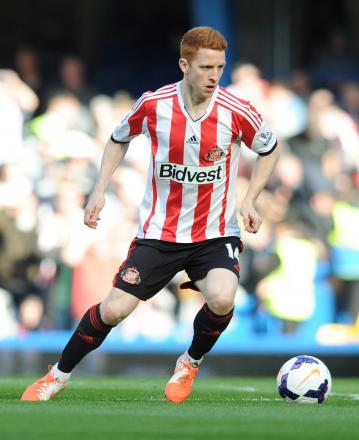 Jack Colback has turned down the offer of a new contract at the Stadium of Light. Picture: Action Images