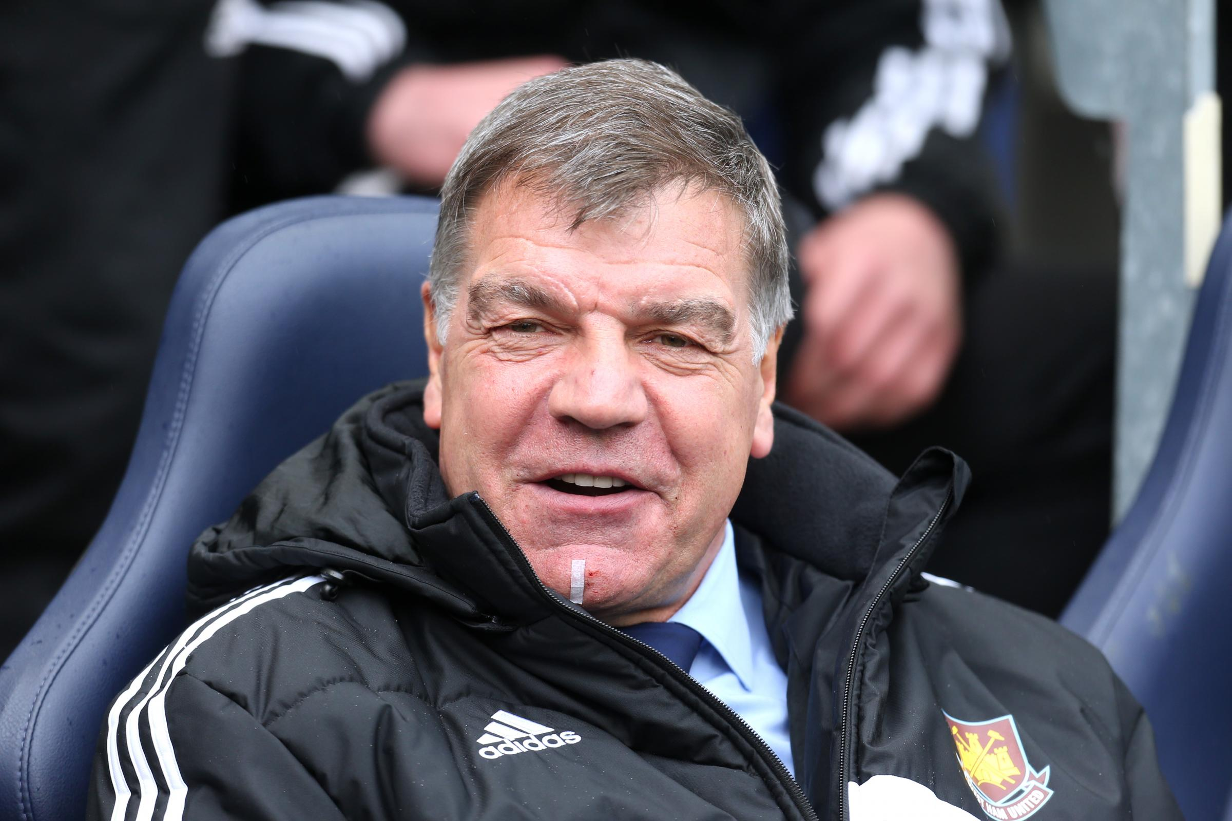 Sam Allardyce remains in the hot-seat at Upton Park for now. Picture: Action Images