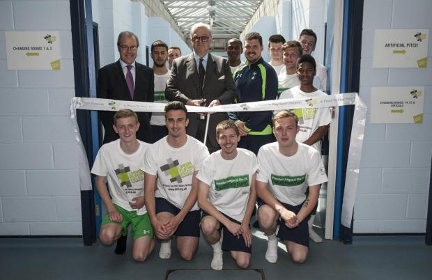 The Douglas Eyre Sports centre has been given a £200k make-over