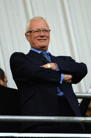 Barry Hearn is in talks about a potential takeover: Action Images