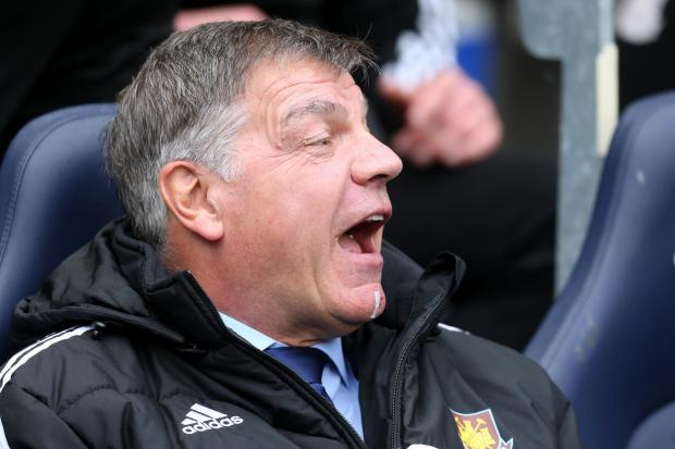 Sam Allardyce has been allowed to start his fourth season as Hammers boss. Picture: Action Images