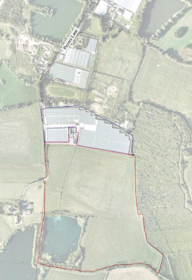 East London and West Essex Guardian Series: 21 acres of glasshouses will be constructed in the development