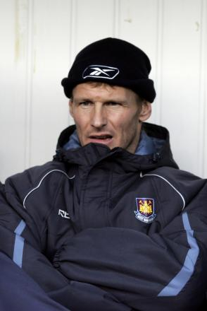 Teddy Sheringham during his stay at Upton Park. Picture: Action Images