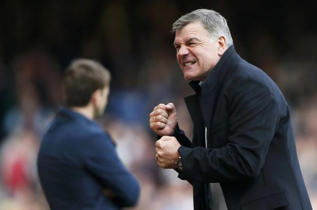 It was announced last week Sam Allardyce would remain in charge next term. Picture: Action Images