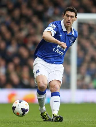 Gareth Barry impressed on loan at Everton last term. Picture: Action Images