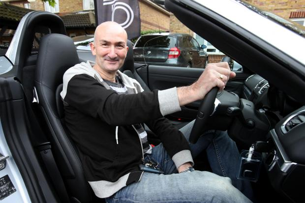 Andrew Boyce won a Porsche and £10k cash