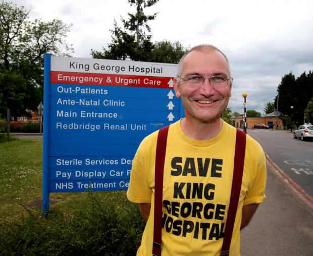 Andy Walker has called for the maternity ward at King George to be re-opened