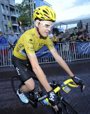 Chris Froome. Picture: Action Images