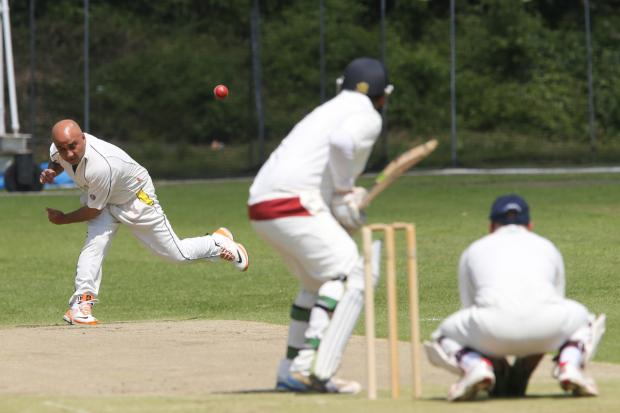 Loughton (bowling) take on South Woodford. Picture: Mark Soanes
