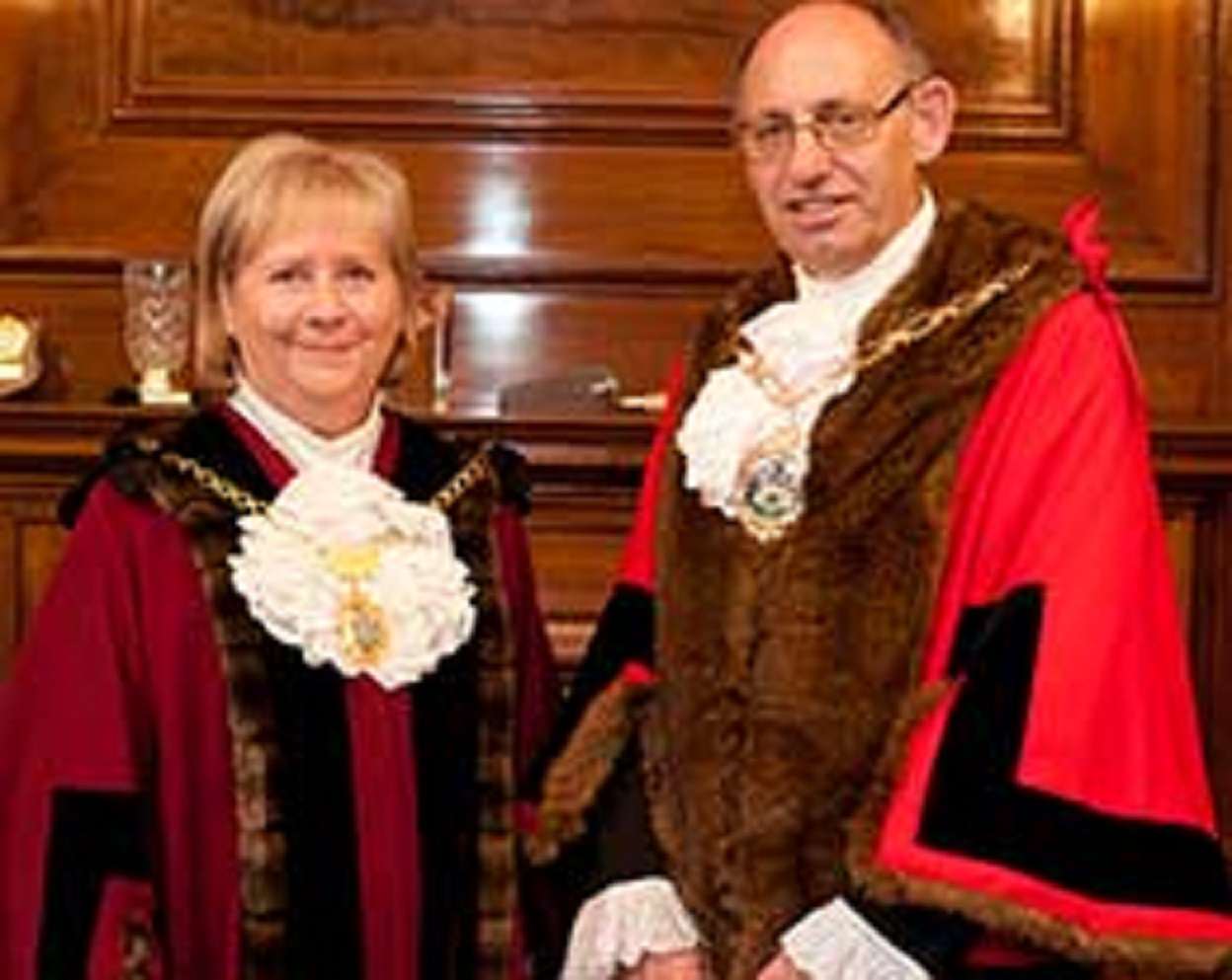 Linda Huggett and Ashley Kissin are bowing out from their roles as mayor and deputy mayor