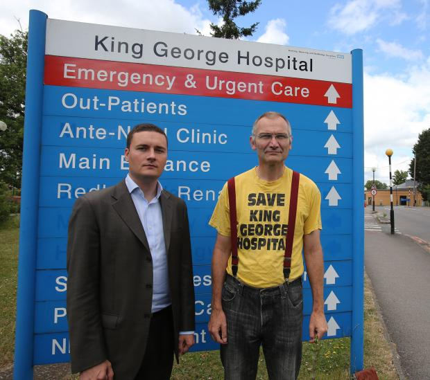 Cllr Wes Streeting, left, and health campaigner Andy Walker have warned patient safety could be jeopardised, jobs could be lost and services cut as underperforming trust try to tackle huge debt.