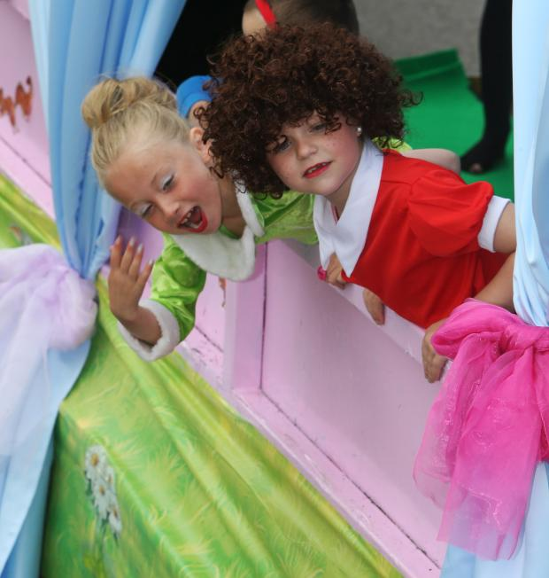 East London and West Essex Guardian Series: Children in fancy dress