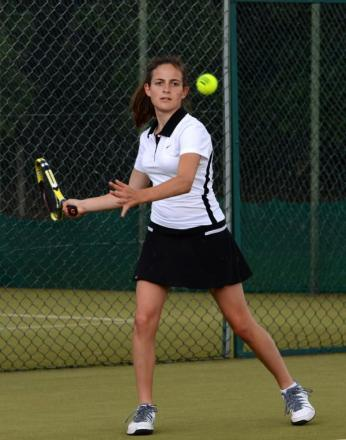Bancroft's School student Raya Uzunova won the under 14s girls final.