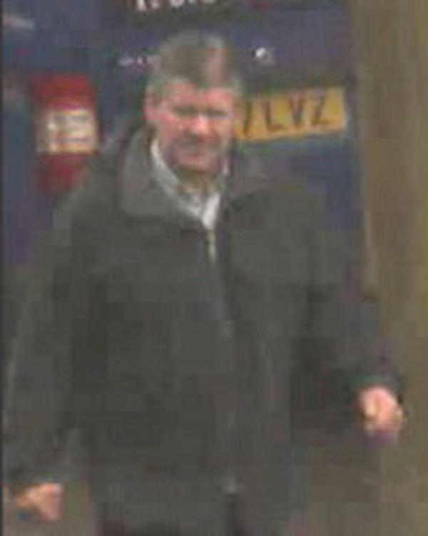 Man sought over distraction burglary